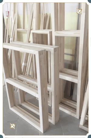 стандартные окна для дачи